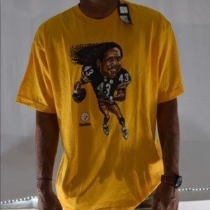Pittsburg Steelers Troy Palamalu Bighead NFL Tee